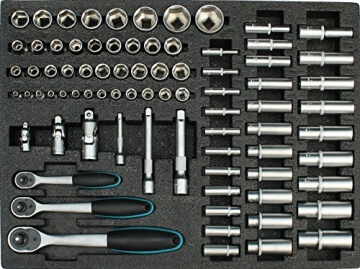 Werkstattwagen gefüllt mit Werkzeug Werkzeugschrank Werkzeugwagen Werkzeugkiste - 2