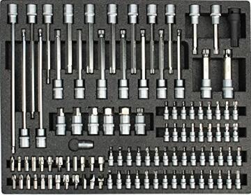 Werkstattwagen gefüllt mit Werkzeug Werkzeugschrank Werkzeugwagen Werkzeugkiste - 4