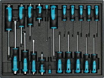Werkstattwagen gefüllt mit Werkzeug Werkzeugschrank Werkzeugwagen Werkzeugkiste - 6