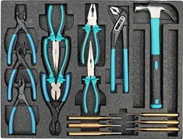 Werkstattwagen gefüllt mit Werkzeug Werkzeugschrank Werkzeugwagen Werkzeugkiste - 7