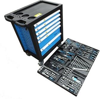 Bensontools Werkstattwagen bestückt mit Werkzeugen Blue Edition - 1