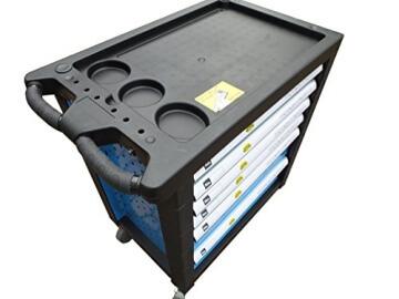 Bensontools Werkstattwagen bestückt mit Werkzeugen Blue Edition - 3