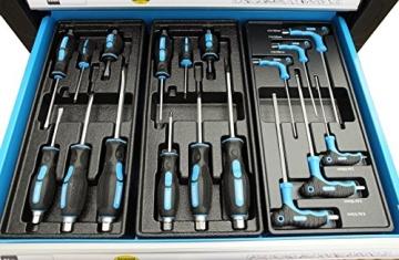 Bensontools Werkstattwagen bestückt mit Werkzeugen Blue Edition - 9
