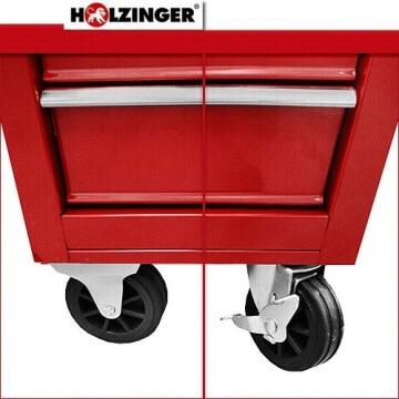 Holzinger Werkzeugwagen HWW1005KG - 5 Fächer - 7