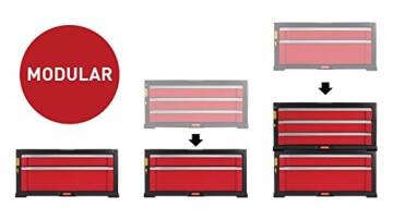 keter schubladenschrank mit r dern leer vorstellung. Black Bedroom Furniture Sets. Home Design Ideas