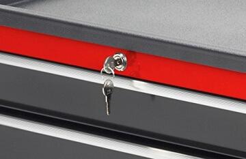 Meister Werkstattwagen 688 x 458 x 939 mm, 8986050 - 4