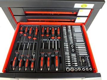 Werkstattwagen bestückt gefüllt Werkzeugwagen Werkzeugkiste Werkzeug Schrank Box 542 - 6