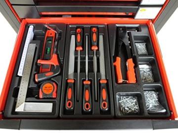 Werkstattwagen bestückt gefüllt Werkzeugwagen Werkzeugkiste Werkzeug Schrank Box 542 - 8