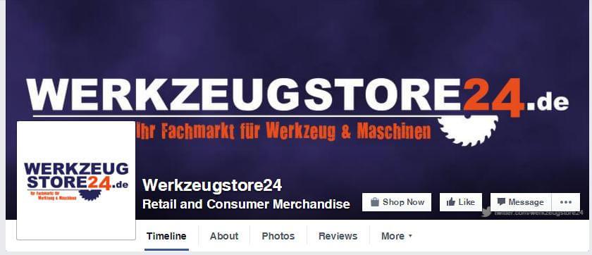werkzeugstore24 Facebook